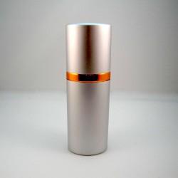 20 мл Атом серебро металл овальной формы