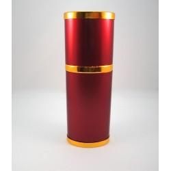30 мл Атом красный металл овальной формы