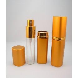 15 мл Атом золото стекло-металл квадратной формы