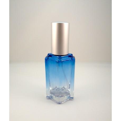 Атом синее стекло