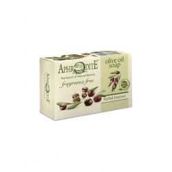 Мыло натуральное оливковое без отдушек